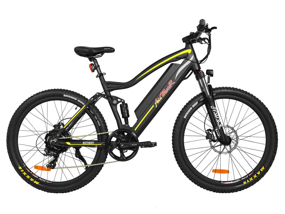 Addmotor Mountain Bike Addmotor HitHot H1 Platinum Mountain Ebike Electric Bicycle USA