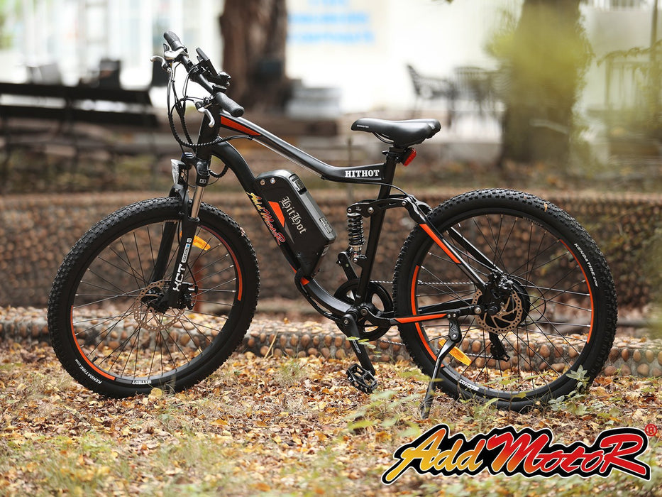 Addmotor Mountain Bike Addmotor Hithot H1 Sport Mountain E-bike Electric Bicycle USA