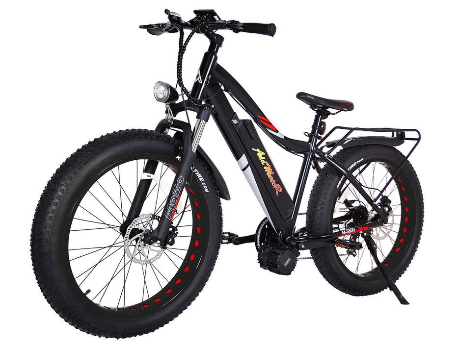 Addmotor Mountain Bike Black Addmotor MOTAN M5800 Fat Tire Ebike Electric Bicycle USA