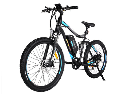 Addmotor Mountain Bike Blue Addmotor Hithot H1 Sport Mountain E-bike Electric Bicycle USA