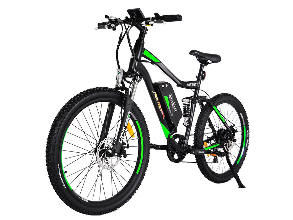 Addmotor Mountain Bike Green Addmotor Hithot H1 Sport Mountain E-bike Electric Bicycle USA