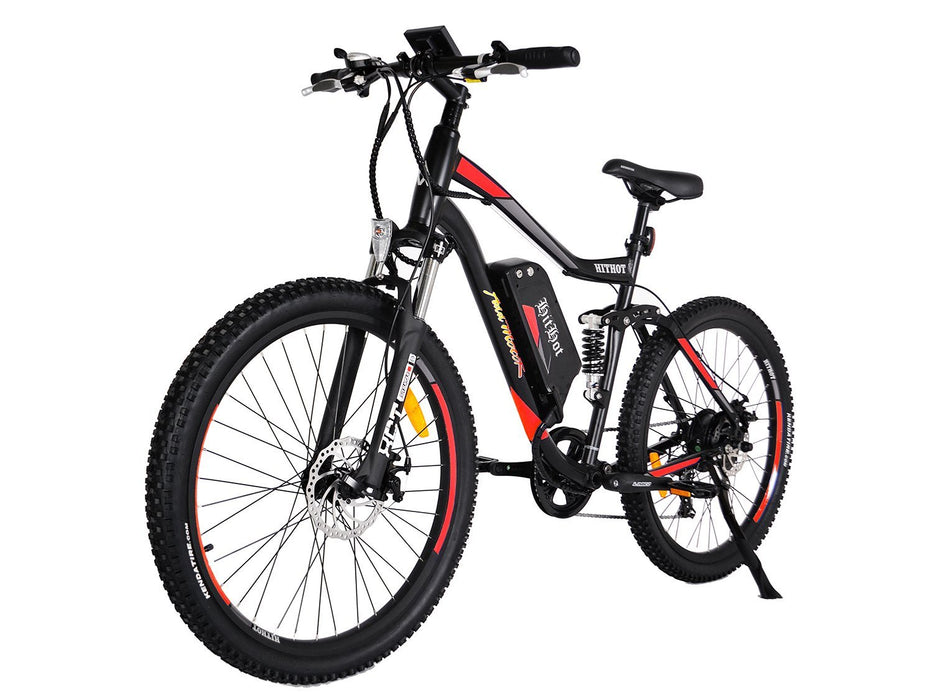 Addmotor Mountain Bike Orange Addmotor Hithot H1 Sport Mountain E-bike Electric Bicycle USA