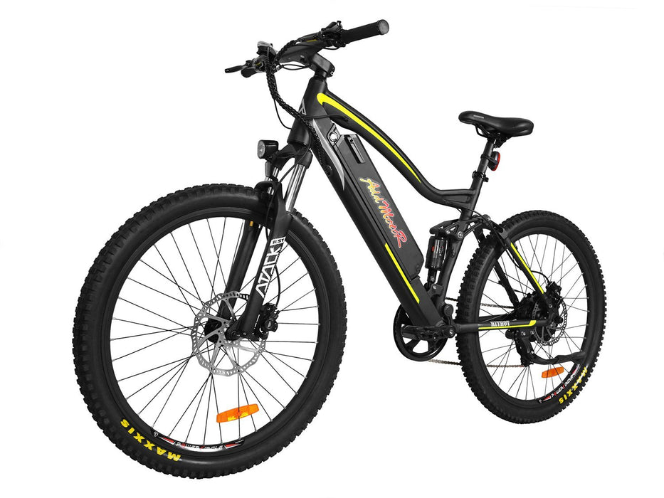 Addmotor Mountain Bike Yellow Addmotor HitHot H1 Platinum Mountain Ebike Electric Bicycle USA