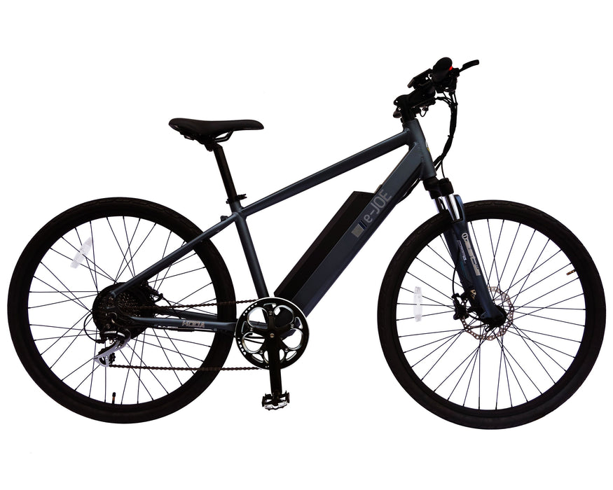 E-Joe Mountain Bike Titanium Gray E-Joe Koda Electric Mountain Bike Electric Bicycle USA
