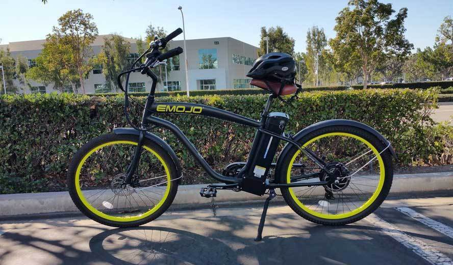 Emojo Cruiser Emojo Hurricane Electric Beach Cruiser Electric Bicycle USA