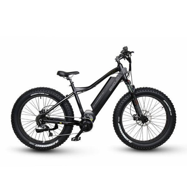 Emojo Hunting Bike Flat Black EMOJO Prowler Electric Hunting Bike Electric Bicycle USA