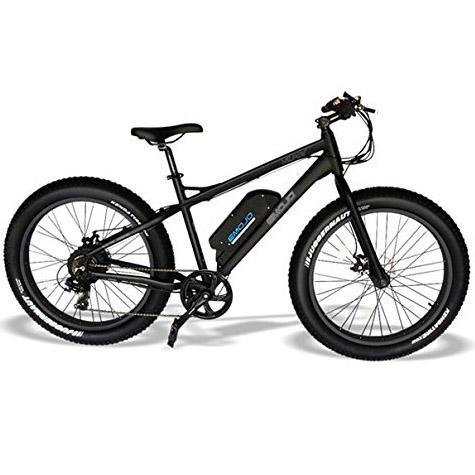 Emojo Mountain Bike Black / None Emojo Wildcat Electric Fat Tire Mountain Bike Electric Bicycle USA