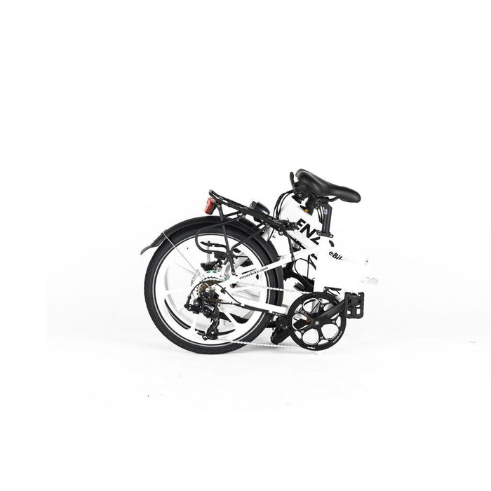 Enzo Folding Ebike Enzo Folding Ebike with Belt Drive Electric Bicycle USA