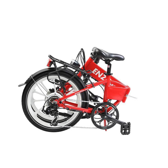 Enzo Folding Ebike Enzo Glow-in-the-Dark Folding Bicycle (9 color options) Electric Bicycle USA