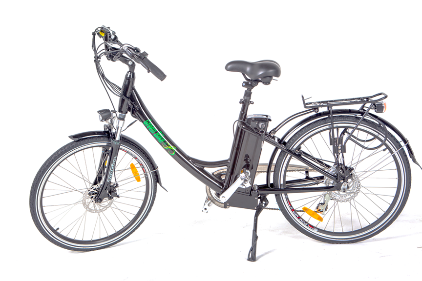 Greenbike USA Cruiser Black Greenbike GB2 Beach Cruiser Ebike Electric Bicycle USA