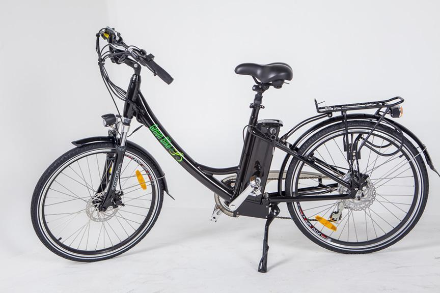 Greenbike USA Cruiser Greenbike GB2 Beach Cruiser Ebike Electric Bicycle USA