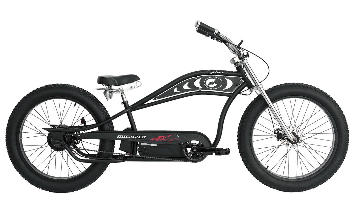 Micargi Cruiser Micargi Cyclone Electric Beach Cruiser Bike Electric Bicycle USA