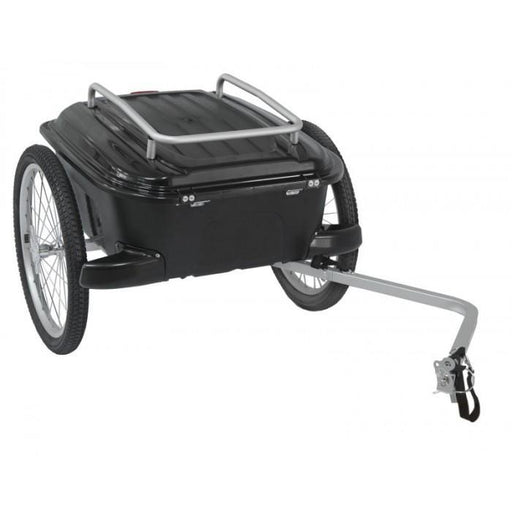 North American Cycle Trailer M-Wave Carry All Hardbox Luggage Trailer Electric Bicycle USA