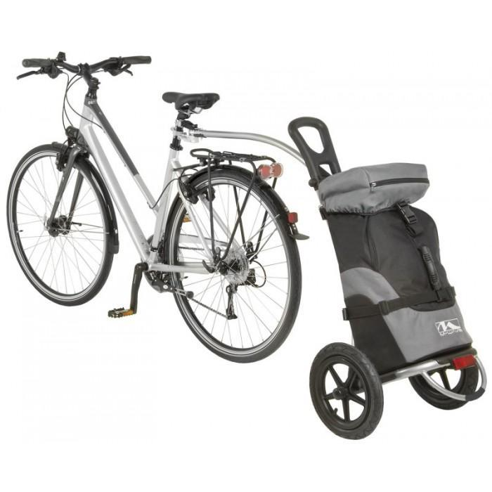 North American Cycle Trailer M-Wave Shop & Ride Luggage Trailer and Cart Electric Bicycle USA