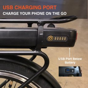 Populo Folding Ebike Populo Curve Folding Electric Bike Electric Bicycle USA