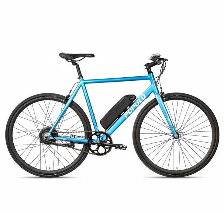 Populo Mountain Bike Extra Small (49cm) / Blue Populo Sport V3 Electric Bicycle Electric Bicycle USA