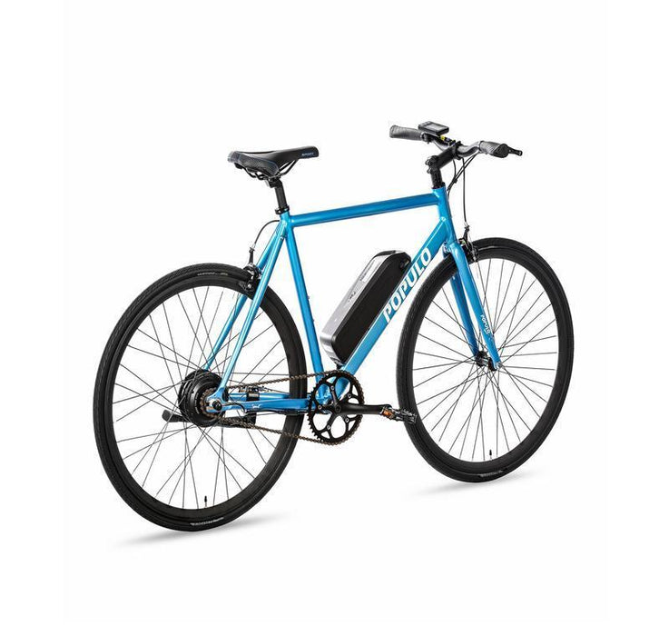 Populo Mountain Bike Medium (55cm) / Blue Populo Sport V3 Electric Bicycle Electric Bicycle USA
