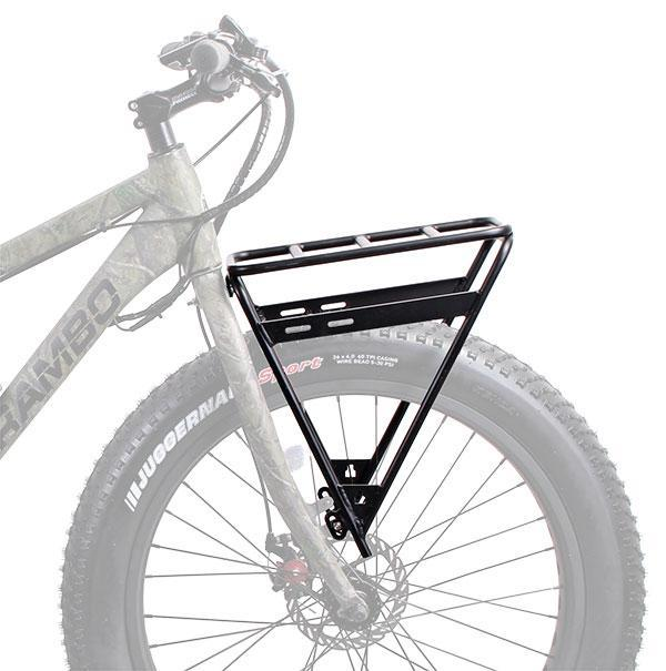 Rambo Hunting Bike Front Luggage Rack Rambo R1000XP G3 Carbon Electric Hunting Bike Electric Bicycle USA