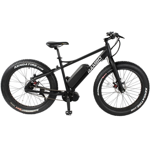 Rambo Hunting Bike None Rambo R750 G3 Matte Black Electric Hunting Bike Electric Bicycle USA