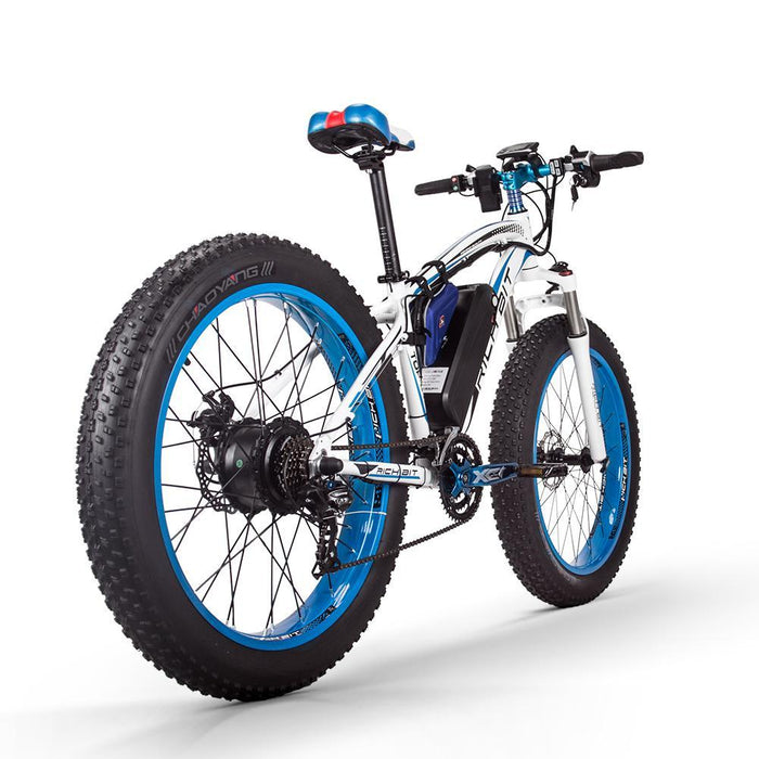 Richbit Mountain Bike Richbit TOP-022 21-Speed Fat Tire Ebike Electric Bicycle USA
