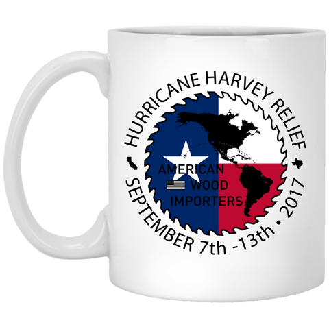 AWI - Hurricane Relief 11 oz. White Mug