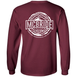 McBride Customs - Long Sleeve (White Logo)