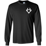 Vigilant & Humble - White Logo (Long Sleeve)