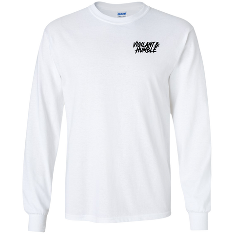 Vigilant & Humble - Black Logo (Long Sleeve)