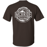 McBride Customs - Short Sleeve (White Logo)