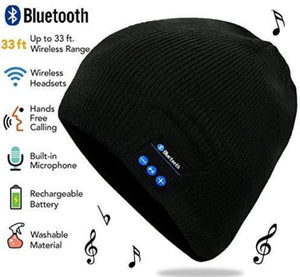 bluetooth Beanie  Black Unisex Design