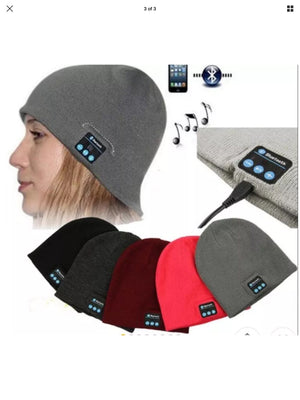 Bluetooth Beanie Dark Grey Unisex Design