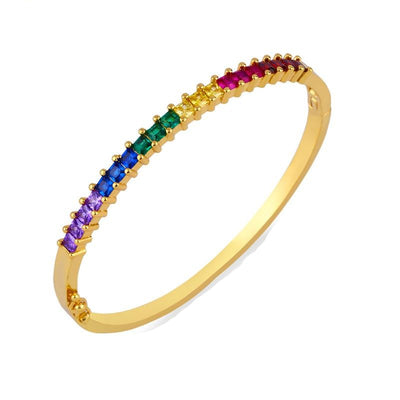 Bobo Rainbow Zirco Chic Bangle
