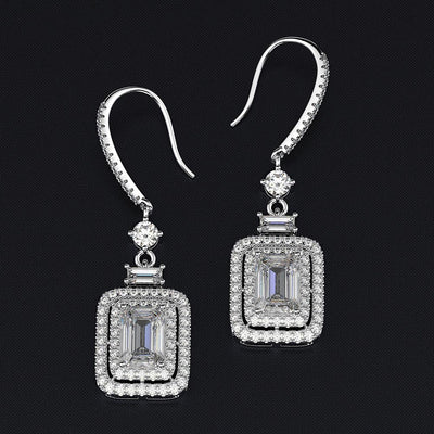 ALESSIA EMERALD DROP EARRINGS
