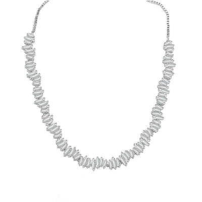 Zeta Adjustable Zirco Necklace