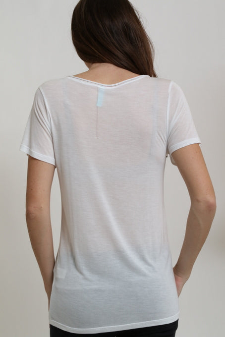 Love Shopping V-Neck Tee