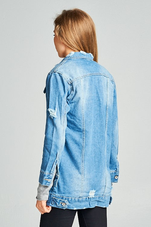 Stressed Out Denim Jacket