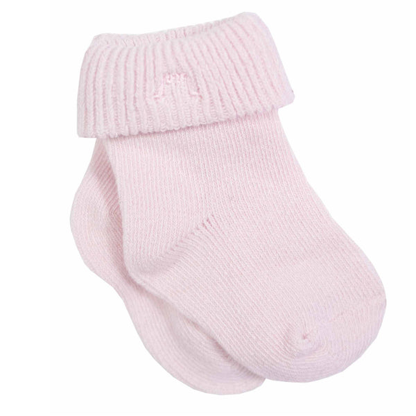 Baby Socks Unisex in Pale Pink - Chateau de Sable