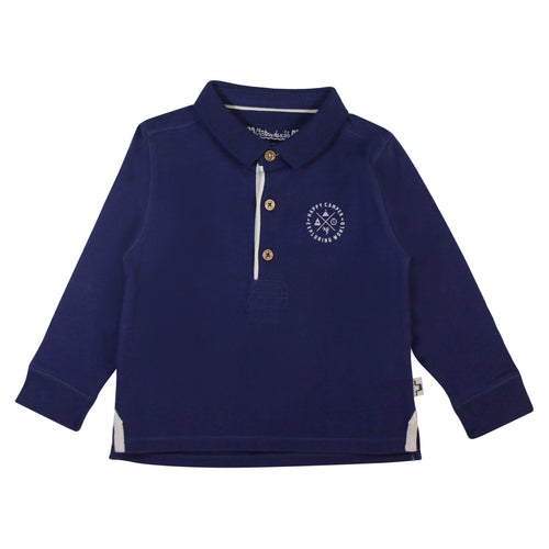 Val d'Isere Preppy Long Sleeve Polo