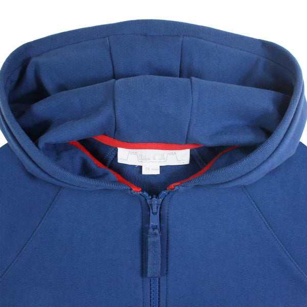 Oh La La Hooded Zipper