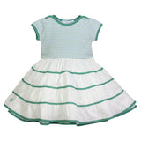 Sable Striped Ballerina Dress