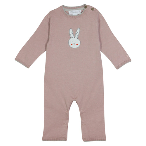 JoJo Lapin Cotton Knit Romper