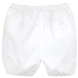 Baby Boy Classic White Cotton Bloomers - Chateau de Sable