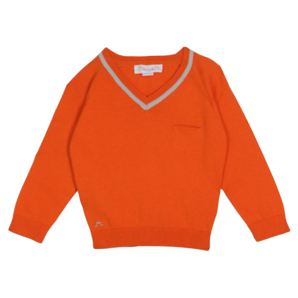Preppy Boys V Neck Jumper