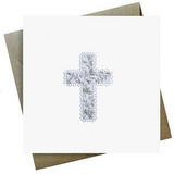 Christening Cross Card