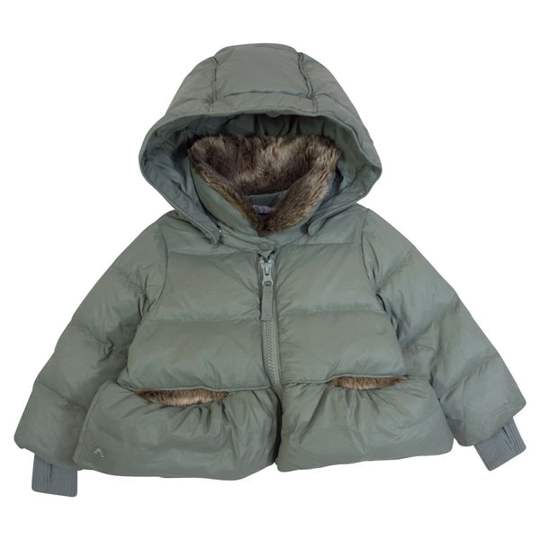 Girls Down Hooded Coat
