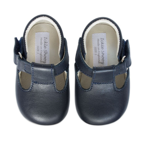 Leather Pram Shoes - Chateau de Sable
