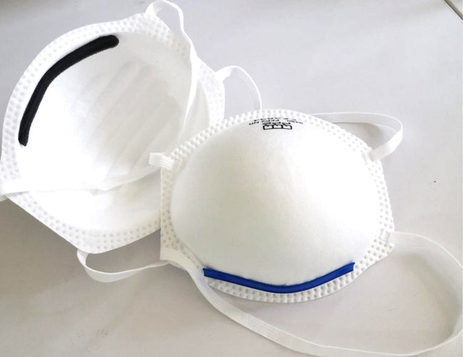 PPE Face Mask Standard FFP2 CE Approved Cup Design x 100
