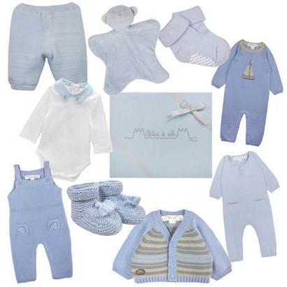 Baby Boys First Blue Wardrobe