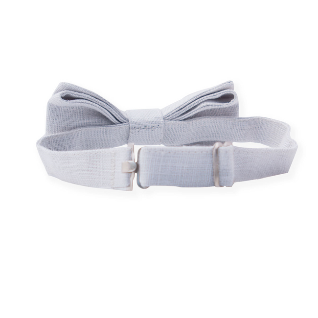 Linen Bow Tie - Chateau de Sable