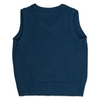 Traditional Cotton Tank Top Navy - Chateau de Sable